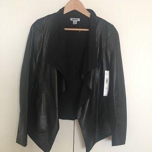 NWT DKNY leather jacket